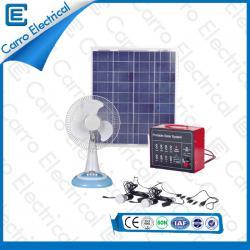 Konkurrenzfähiger Preis 30W Startseite Günstige Top Solar-Panel Power Systems mit 5 m Stromleitung CES- 1217