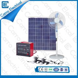 40W Long Working Hours Portable Home Solar Energy System with 5m Power Line CES-1220