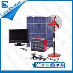 80W Easy to Use Household Portable Electric Solar Power Home System Durable Long Working Time CES-1233