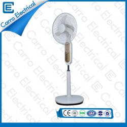 Energy Saving Solar Rechargeable Battery Operated Electric Light Stand Fan 40W CE-12V18K6