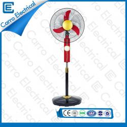 DC 12V/Solar Panel 15W Stand Fan 16 Inches Colors Optional OEM Welcomed DC-12V16K