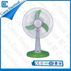 china hot sale elegant 14inch or 16inch solar operated dc table fan DC-12V16M4 manufacturer