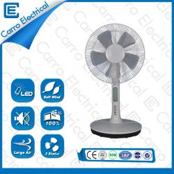 New product energy-saving AC DC solar table fan ADC-12V16A3