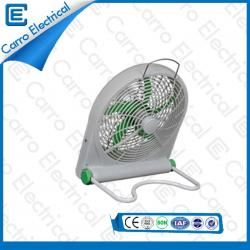 Solar or DC Small Box Cooling Fan Portable Three Levels Wind Design Manufacturing Factory 1 Year Warranty DC-12V10Q