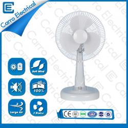 china 12 Inches Metal Blade AC DC Solar Table Stand Fan Rechargeable 12V CE-12V12M3 manufacturer