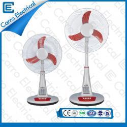 china 12V DC Energy Saving Stand Fan with Solar Panel Three Level Wind Design Connect with DC Power Source manufacturer