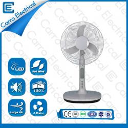 china New product energy-saving AC DC solar table fan ADC-12V16A3 manufacturer