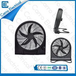 便利なキャリング充電式ボックスファンABS + PP素材安全動作CE- 12V10Q