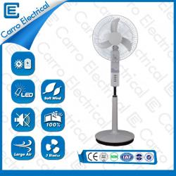12V 40W 18 inch solar rechargeable fan with muslim design LED light CE-12V18K4