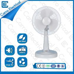 Simple style AC/DC 12V low power solar table fan ADC-12V12M3
