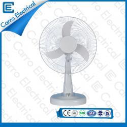 china Fábrica de venta directa 12v dc 16inch blanco ventilador de mesa solar DC- 12V16M3 fabricante