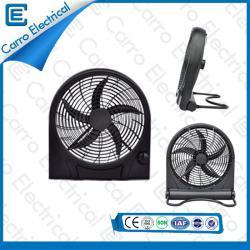 china 15W 12V Solar- tragbare Box Fan mit praktischer Transportumweltschutz manufacturer