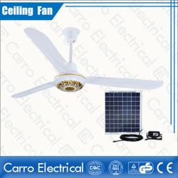 china solar fan exporter that sales solar ceiling fan with brushless motor manufacturer