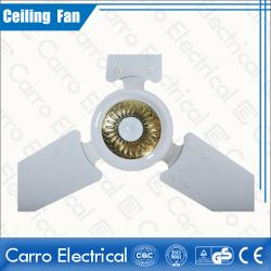 New production 12v dc brushless motor ceiling fan with solar panel DC-12V56A2
