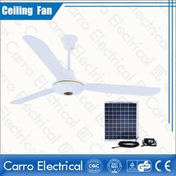 中国 Long life time dc solar energy remote control ceiling fan DC-12V56C1  メーカー