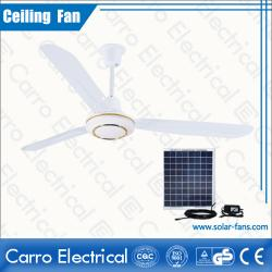 Çin Good sale for the Ce 56inch solar ceiling fan price DC-12V56E2 geç
