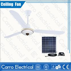 Çin New model indoor & outdoor 12v solar dc ceiling fan DC-12V56B3 geç