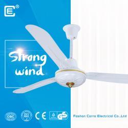 AC DC double used dc motor ceiling solar fan supplier