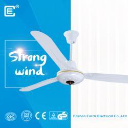 中国 AC DC double used dc motor ceiling solar fan supplier  メーカー