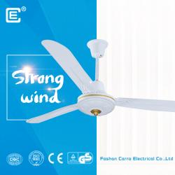 中国 56 inch ac dc ceiling fan solar fan factory China  メーカー