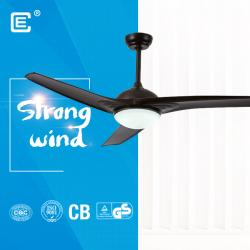 china 52 inch plastic AC ceiling fan with lamp fornecedor
