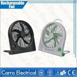 High Quality 12V 6W 10 Inches DC Power Panel Solar Rechargeable Box Fan Energy-saving Cheap Wholesale Price CE-12V10Q