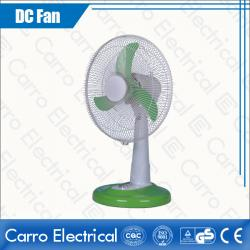 12V 12W 12 Inches DC 12V Solar Panel DC Desk Fan Vintage Style Durable High Quality Energy Saving DC-12V12C