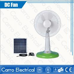Hot Sale Solar Power Safe Operation 12V DC Best Cheap Cooling Table Fans Wholesale Competitive Price ADC-12V12M4