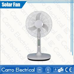 china The Best Performance Outdoor/Indoor Domestic Solar DC Motor Rechargeable Table Fan Wholesale Top Quality CE-12V16A3 do fabricante