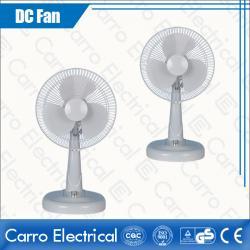 china Small Portable DC Motor 12V Solar DC Electric Best Table Fans Made in China Safe Operation Wholesale DC-12V12M3 manufacturer