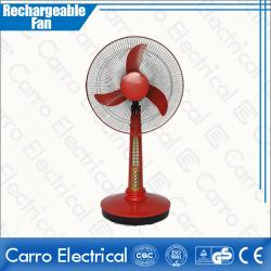High Rotation Speed Battery Powered Mini Table Fan Rechargeable with Led Lamp Quality Guaranteed OEM Accepted CE-12V16A2