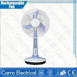 Китай High Rotation Speed Battery Powered Mini Table Fan Rechargeable with Led Lamp Quality Guaranteed OEM Accepted CE-12V16A2 поставщиком