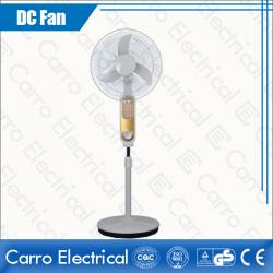 china DC 12V 16 Inches Solar Powered Floor Standing Fans Best Quality with 12 LED Lamps DC-12V16K7 manufacturer