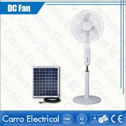 china High Speed 1250rpm Indoor and Outdoor Used DC Solar Floor Fan Fast Delivery DC-12V18K5 do fabricante