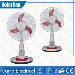 china Full of Classical Flavor DC 12V 16 Inches Solar Charge Stand Fan with LED Lamps CE-12V16TD3 fornecedor