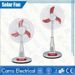 Full of Classical Flavor DC 12V 16 Inches Solar Charge Stand Fan with LED Lamps CE-12V16TD3
