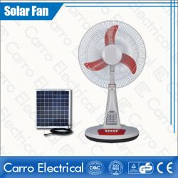 china DC 12V 15W 16 Inches Fan Blade Solar Power Stand Fan with Competitive Price Wholesale ADC-12V16TD3 manufacturer