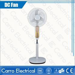 china Host Sale DC 12V and 110V/220V DC Motor Best Stand Fan with LED Lamp Portable ADC-12V16K6 manufacturer