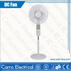 High Quality DC Solar Panel AC/DC All in One 14 Inches Fan Blade Floor Standing Fan ADC-12V16B4