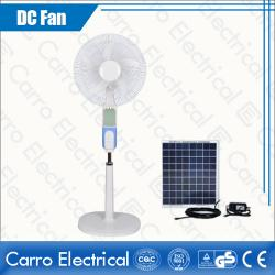 Çin Practical Hot Sale Electric AC DC Dual 12V 16 Inches Solar Floor Standing Fan China Supplier ADC-12V16B3 geç