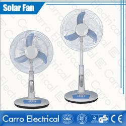 16 Inches DC 12V or 110V/220V Timer Function 15W Solar AC DC Stand Fan ADC-12V16TD2