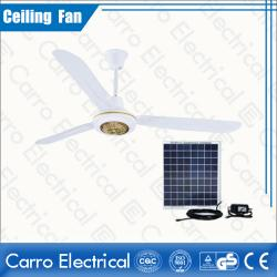 china High Quality 12V High Speed New White Hanging Ceiling Fans with 3 Metal Fan Blades DC-12V56A5 fabricante