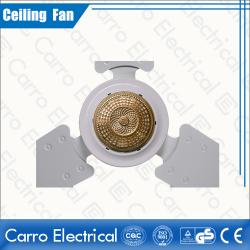 White Color Solar AC DC Indoor Ceiling Fans Step Switch Controller Convenient Carrying Low Noise ADC-12V56A6