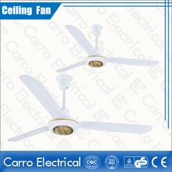 china White Color Solar AC DC Indoor Ceiling Fans Step Switch Controller Convenient Carrying Low Noise ADC-12V56A6 fournisseur