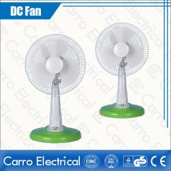 New product solar power operation dc table fan DC-12V12M4