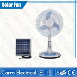 Çin 16 Inches Electric DC Motor Stand Fan Safe Certified Energy Saving 12V 15W DC-12V16TD2 geç