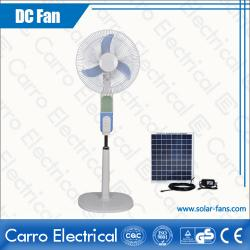 Çin Rechargeable Stand Fan Colors Available Three Levels Wind Control Convenient Carrying CE-12V16B3 üretici