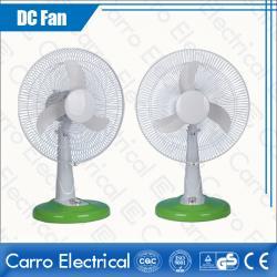 Китай White 14 Inches Fan Blade 13W 12V AC DC Table Fan Samples Available ADC-12V14M4 производителя