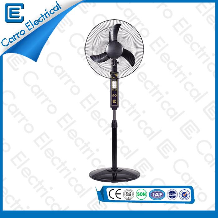 Китай Энергосберегающие 3 Регулируемые уровни DC Motor AC адаптер лучший стенд Вентиляторы со светодиодными огнями ADC- 12V16B поставщиком