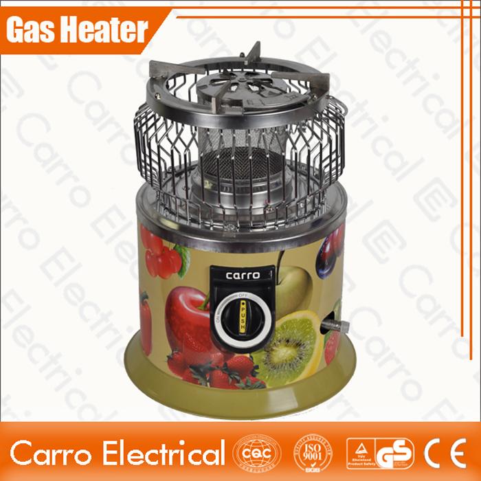 china Long temps de travail bon marché Portable GPL Petite Maison intérieure Gas Appareils de chauffage de haute qualité CEH- 1401G fournisseur